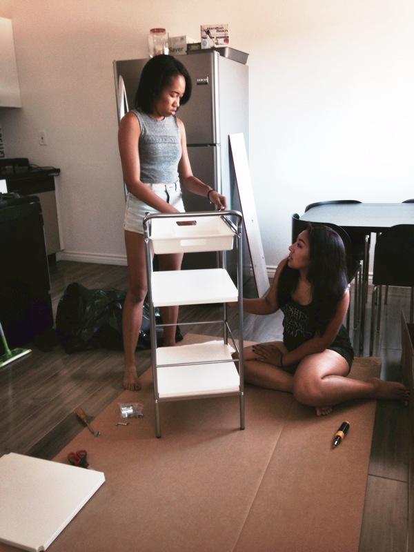 building cart